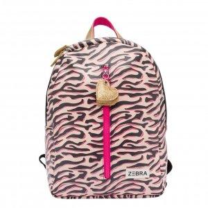 Zebra Trends Girls Rugzak M Zebra Stripes pink