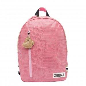 Zebra Trends Girls Rugzak M croco pink