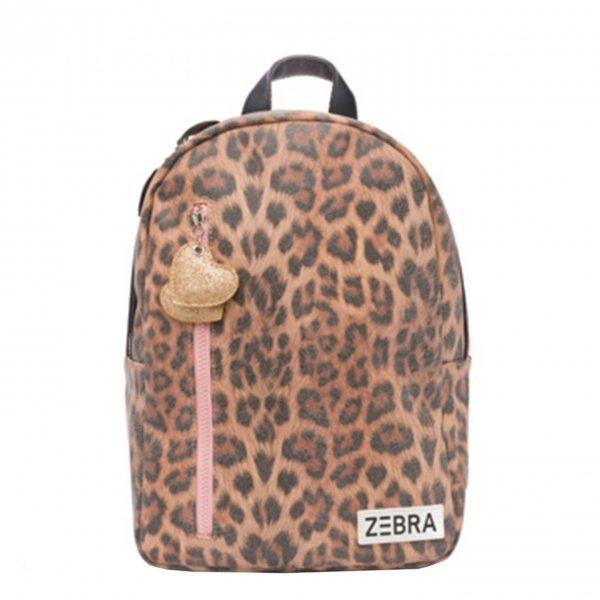 Zebra Trends Girls Rugzak M leo camel pink