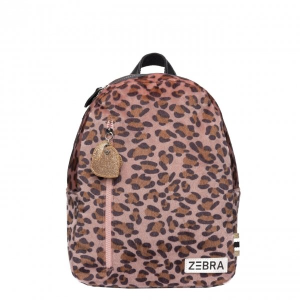 Zebra Trends Girls Rugzak S Soft Leo pink Kindertas