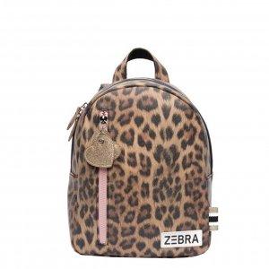 Zebra Trends Girls Rugzak S leo camel pink