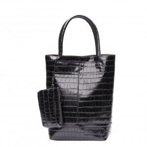 Zebra Trends Natural Bag Kartel Croco black Damestas