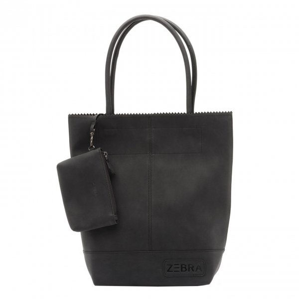 Zebra Trends Natural Bag Kartel Fearless II black Damestas