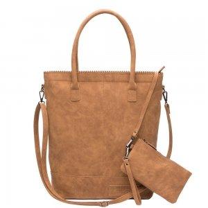 Zebra Trends Natural Bag Kartel Fearless II camel Damestas