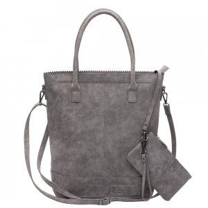 Zebra Trends Natural Bag Kartel Fearless II grey Damestas