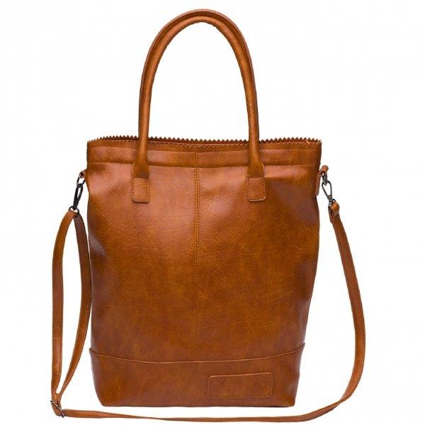 Zebra Trends Natural Bag Kartel Rits camel Damestas