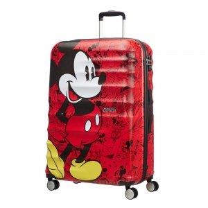American Tourister Wavebreaker Disney Spinner 77 mickey comics red Harde Koffer