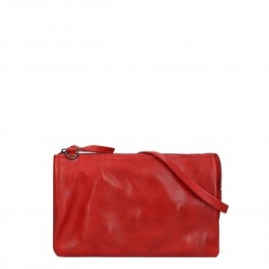 Bear Design Callisto Pelle Clutch rood II Damestas