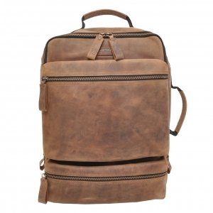 Berba Ruvido Backpack 15.6'' coffee backpack