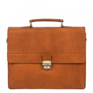 Burkely Vintage Dean Briefcase cognac Aktetas