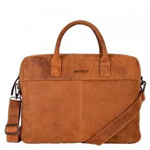 "DSTRCT Wall Street Workingbag 15"" cognac"