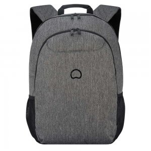 """Delsey Esplanade Two Compartment Laptop Backpack 17.3"""" antracite backpack"""