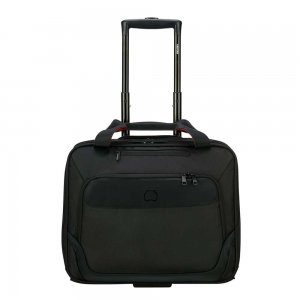 """Delsey Parvis One Compartment Trolley Boardcase 15.6"""" black Pilotenkoffer"""