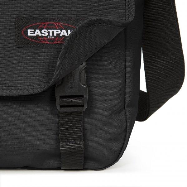 Eastpak Delegate + Schoudertas black van Polyester