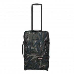 Eastpak Tranverz S leaves dark Handbagage koffer Trolley