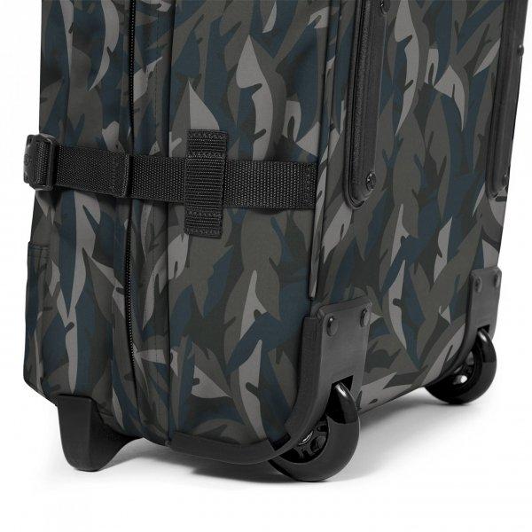 Eastpak Tranverz S leaves dark Handbagage koffer Trolley van Polyester