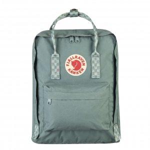 Fjallraven Kanken Rugzak frost green / chess pattern backpack