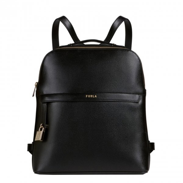Furla Piper Backpack M nero Damestas
