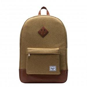 Herschel Supply Co. Heritage Rugzak coyote slub backpack