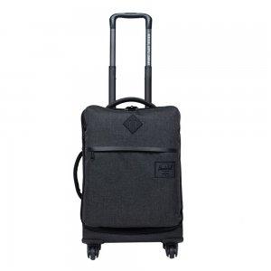 Herschel Supply Co. Highland Carry-On Trolley black crosshatch Zachte koffer