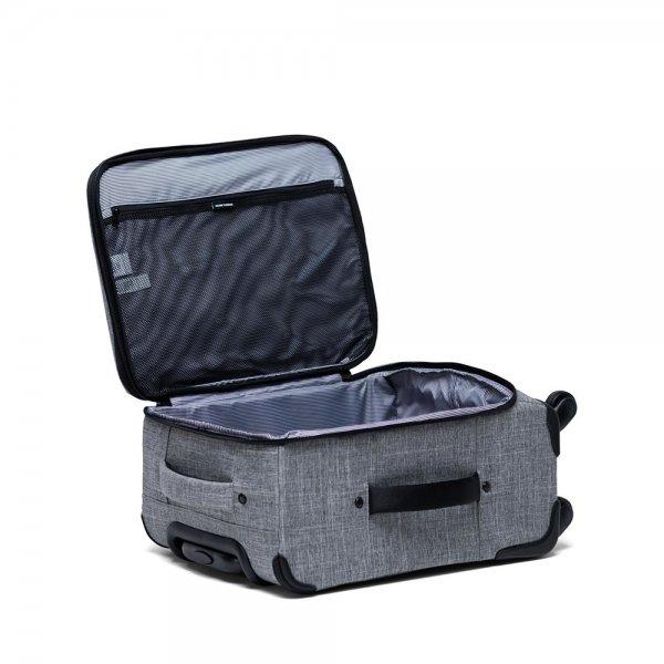 Herschel Supply Co. Highland Carry-On Trolley raven crosshatch Zachte koffer van Polyester