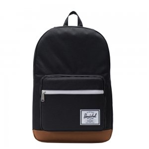Herschel Supply Co. Pop Quiz Rugzak black/saddle brown backpack