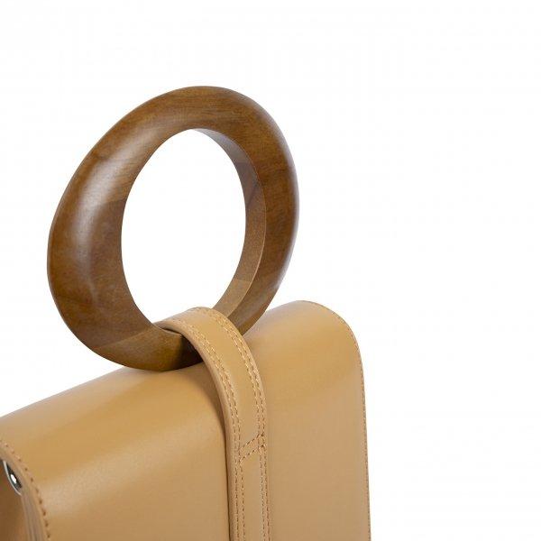 Inyati Abbey Top Handle Bag camel Damestas