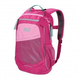 Jack Wolfskin Track Jack Rugzak pink peony backpack