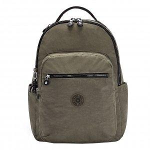Kipling Seoul Rugzak green moss backpack