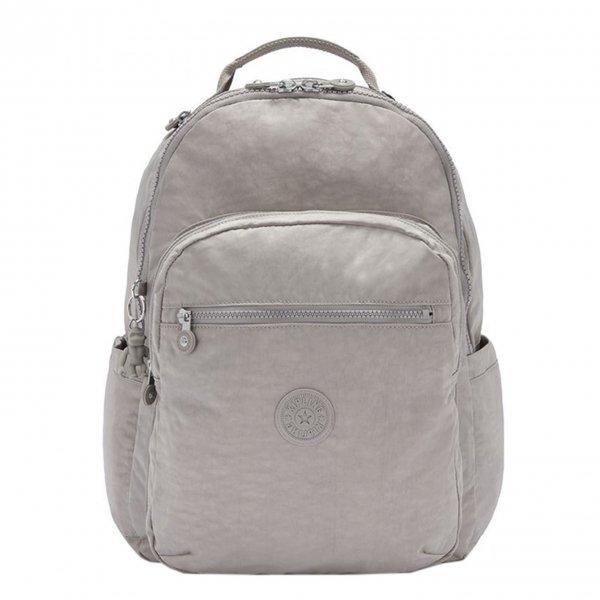 Kipling Seoul Rugzak grey gris backpack