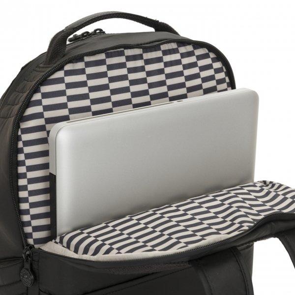 Kipling Troy Rugzak NC++ raw black backpack van Nylon