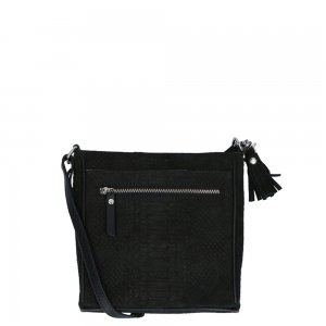LouLou Essentiels Sugar Snake Crossbody black3 Damestas