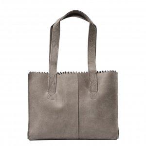 Myomy Paper Bag Handbag hunter taupe Damestas