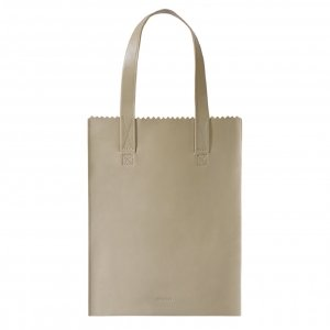 Myomy Paper Bag Long Handle zip sand Damestas