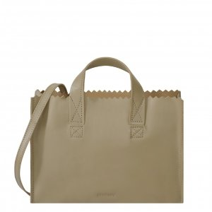 Myomy Paper Bag Mini Handbag crossbody sand