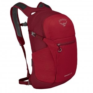 Osprey Daylite Plus Backpack cosmic red backpack