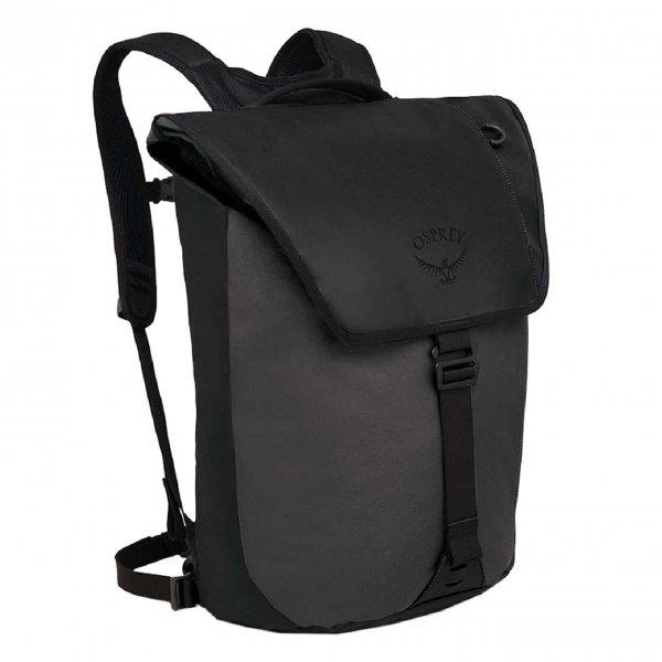 Osprey Transporter Flap Backpack black backpack