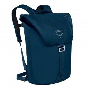 Osprey Transporter Flap Pack Backpack deep water blue backpack