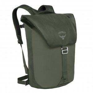 Osprey Transporter Flap Pack Backpack haybale green backpack