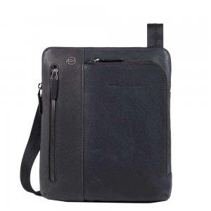 Piquadro Black Square Crossbody Bag night blue