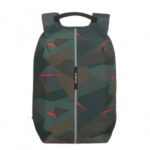 Samsonite Securipak Laptop Backpack 15.6'' deep forest camo backpack
