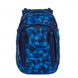 Satch Match School Rugzak blue crush backpack