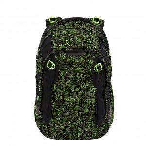 Satch Match School Rugzak green bermuda II backpack