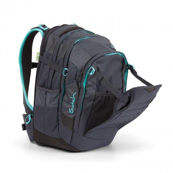Satch Match School Rugzak mint phantom backpack van Polyester