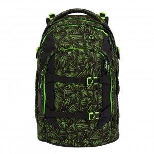 Satch Pack School Rugzak green bermuda II