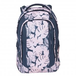Satch Sleek School Rugzak botanic blush