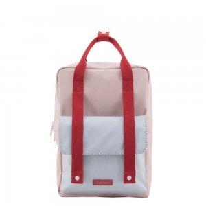 Sticky Lemon Deluxe Backpack Large mendl's pink / agatha blue / elevator red Kindertas