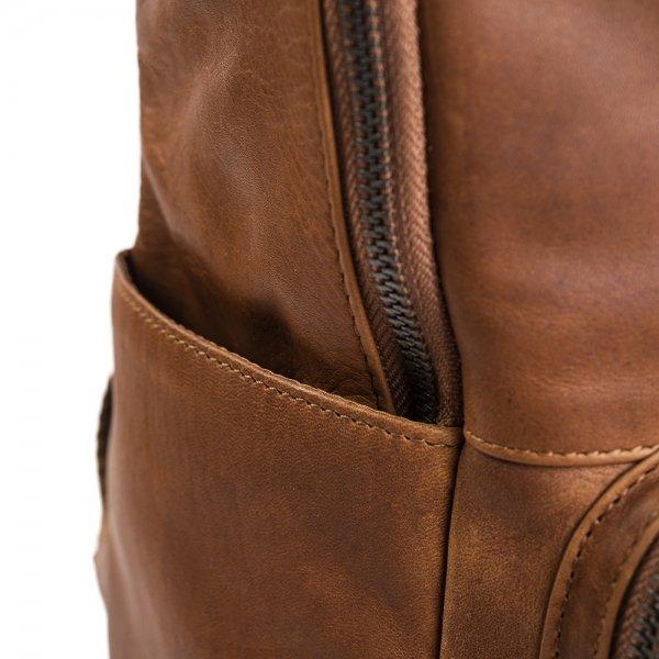 The Chesterfield Brand Ari Rugzak cognac backpack van Leer