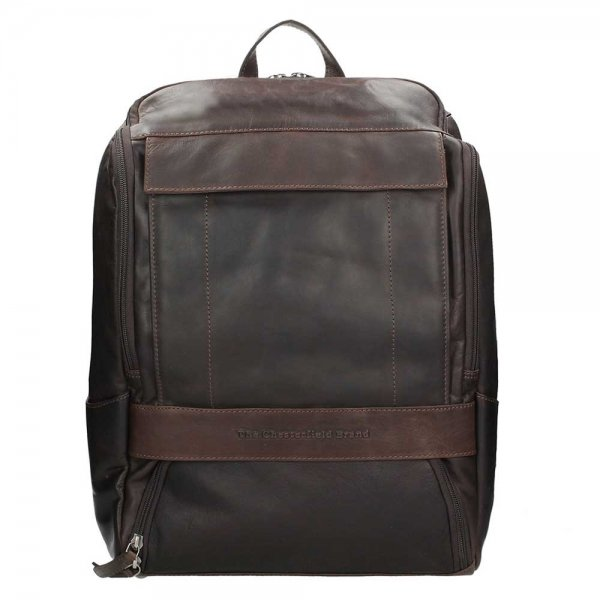 The Chesterfield Brand Rich Laptop Backpack brown backpack