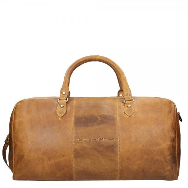 The Chesterfield Brand William Travelbag cognac Weekendtas